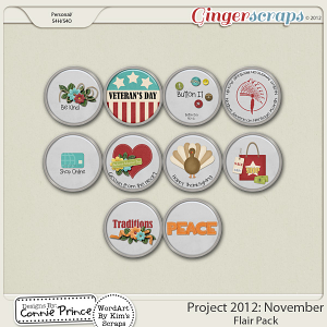 Retiring Soon - Project 2012: November - Flair Pack