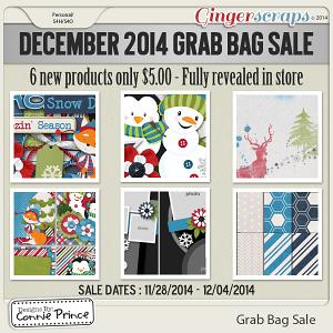 December 2014 Grab Bag Sale - Winterly