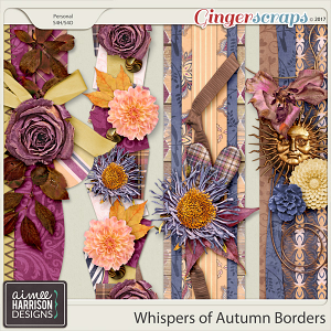Whispers of Autumn Borders by Aimee Harrison