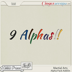 Martial Arts - Alpha Pack AddOn