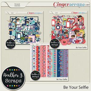 Be Your Selfie KIT by Heather Z Scraps