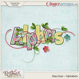 May Daze Alphabets