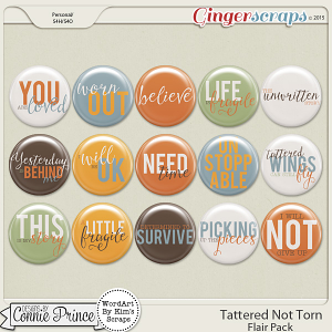 Tattered Not Torn - Flair Pack