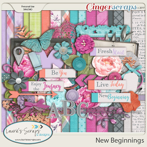 New Beginnings - Page Kit