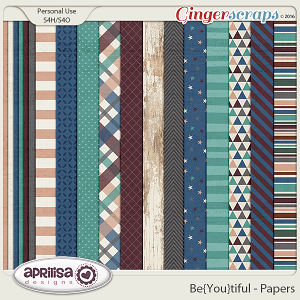 Be{You}Tiful - Papers by Aprilisa Designs