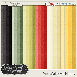 You Make Me Happy Kraft Solids