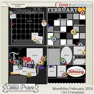 Monthlies February - 12x12 Temps (CU Ok)