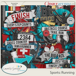 Sports: Running Page Kit