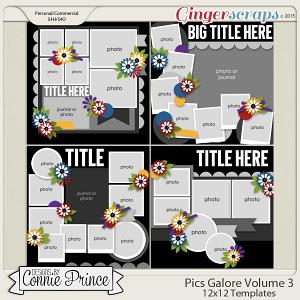 Pics Galore Volume 3 - 12x12 Temps (CU Ok)