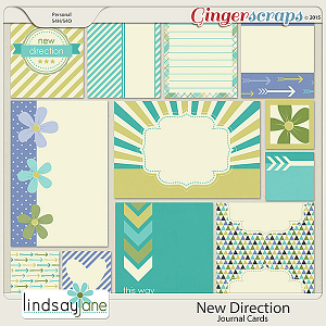 New Direction Journal Cards by Lindsay Jane