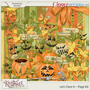 Let's Face It Page Kit
