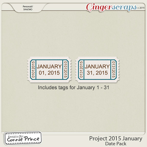 Project 2015 January - Dates