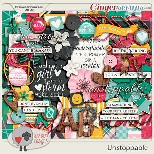 Unstoppable Kit by Luv Ewe Designs