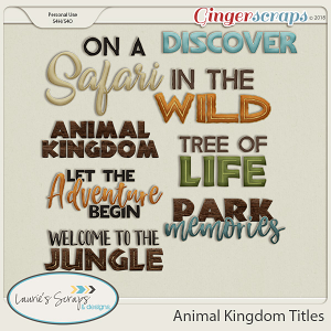 Animal Kingdom Titles