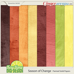 Season of Change - Painted Solid Papers
