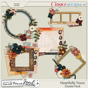 Retiring Soon -  Heartfully Yours - Cluster Pack