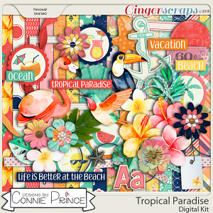 Tropical Paradise - Kit by Connie Prince