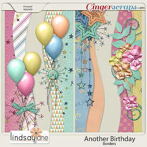 Another Birthday Borders by Lindsay Jane