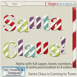 Santa Claus is Coming to Town {Alphas} by Day Dreams 'n Designs