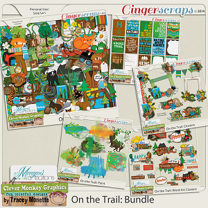 On the Trail Bundle by Clever Monkey Graphics & Meagan's Creations
