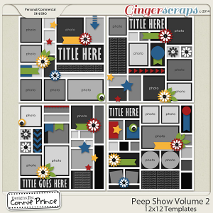 Retiring Soon - Peep Show Volume 2 - 12x12 Temps (CU Ok)