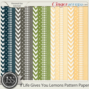 If Life Gives You Lemons Pattern Papers