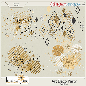 Art Deco Party Scatterz by Lindsay Jane