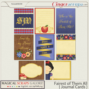 Fairest of Them All (journaling cards)
