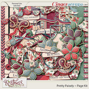 Pretty Paisley Page Kit