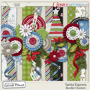Santa Express - Border Clusters