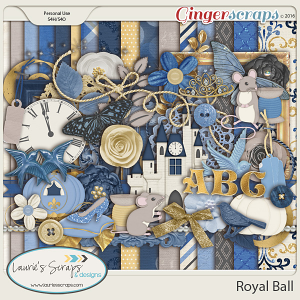 Royal Ball - Page Kit