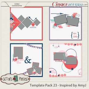 Template Pack 23 - Inspired by AmyJ