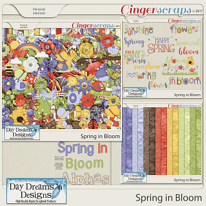 Spring in Bloom {Bundle Collection} by Day Dreams 'n Designs