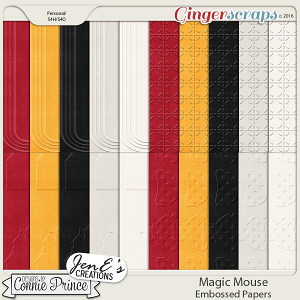 Magic Mouse - Embossed Papers