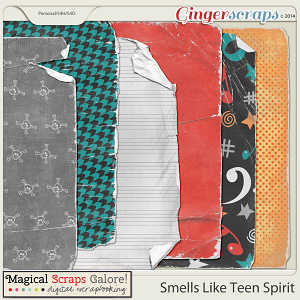 Smells Like Teen Spirit - Torn Papers