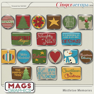 Mistletoe Memories FLAIR by MagsGraphics