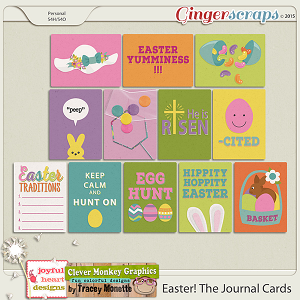 Easter! The Journal Cards by Clever Monkey Graphics