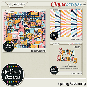 Spring Cleaning BUNDLE by Heather Z Scraps