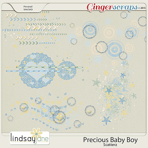 Precious Baby Boy Scatterz by Lindsay Jane