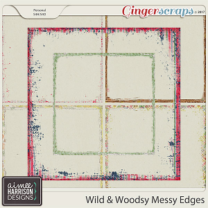 Wild and Woodsy Messy Edges by Aimee Harrison