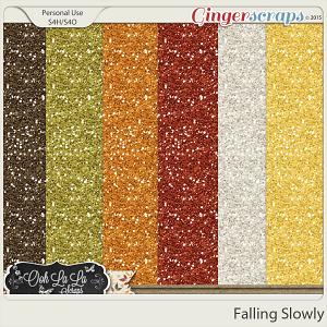 Falling Slowly Glitter Sheets