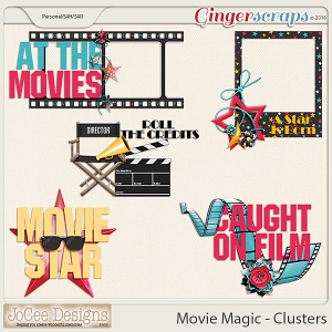 Movie Magic - Word Art
