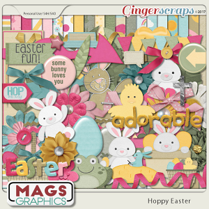 Hoppy Easter KIT by MagsGraphics