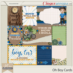 Oh Boy Cards by JoCee Designs