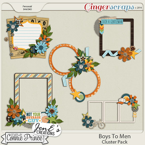 Boys To Men - Cluster Pack