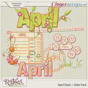 April Daze Date Pack