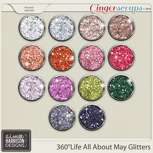 360°Life All About May Glitters by Aimee Harrison