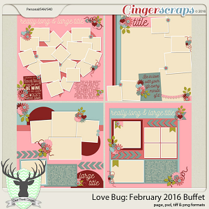Love Bug: February 2016 Buffet