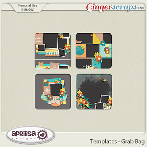 Templates - Grab Bag by Aprilisa Designs