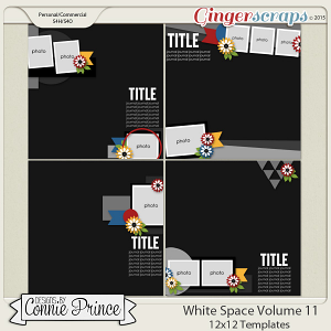White Space Volume 11 - 12x12 Temps (CU Ok)